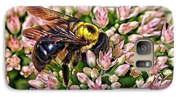 Galaxy Case featuring the photograph Busy Bee by JRP Photography