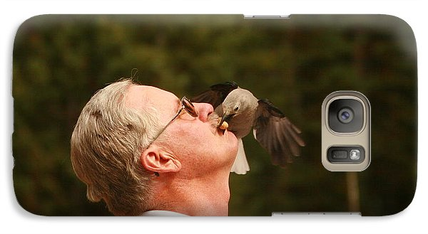 Galaxy Case featuring the photograph Working For Peanuts by Shirley Heier