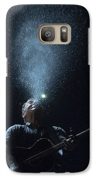 Galaxy Case featuring the photograph Working On The Highway by Jeff Ross