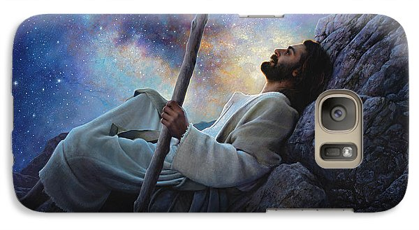 Religion Galaxy S7 Case - Worlds Without End by Greg Olsen