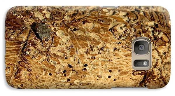 Galaxy Case featuring the photograph Worm Wood - 1 by Kenny Glotfelty