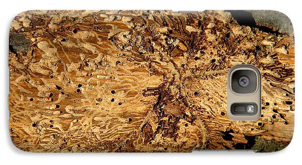Galaxy Case featuring the photograph Worm Wood - 2 by Kenny Glotfelty