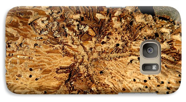 Galaxy Case featuring the photograph Worm Wood - 3 by Kenny Glotfelty