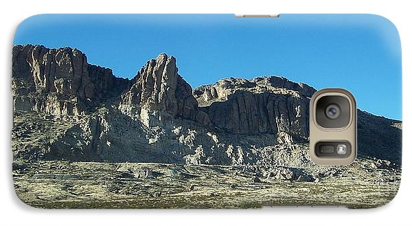 Galaxy Case featuring the photograph Western Landscape by Eunice Miller