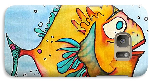 Galaxy Case featuring the painting Big Charlie by Vickie Scarlett-Fisher