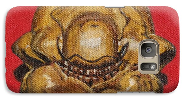 Galaxy Case featuring the painting Worry Not by Linda Prewer
