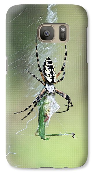 Galaxy Case featuring the photograph Wrap It Up by Kathy Gibbons