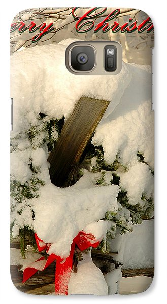 Galaxy Case featuring the photograph Wreath  by Alana Ranney