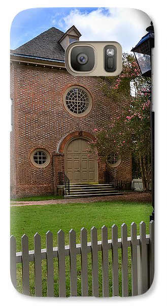 Galaxy Case featuring the photograph Wren Chapel At William And Mary by Jerry Gammon