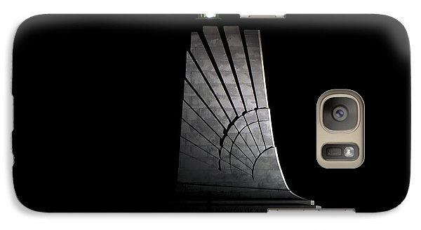 Galaxy Case featuring the photograph Wright Brothers Memorial II by Greg Reed