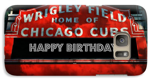 Wrigley Field -- Happy Birthday Galaxy S7 Case