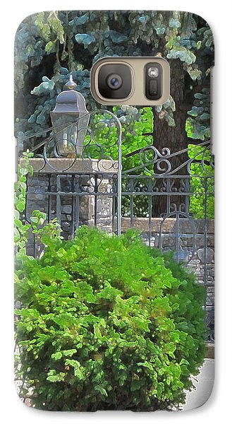 Wrought Iron Gate Galaxy S7 Case