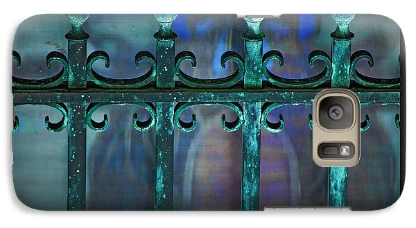 Galaxy Case featuring the photograph Wrought Iron by Rowana Ray
