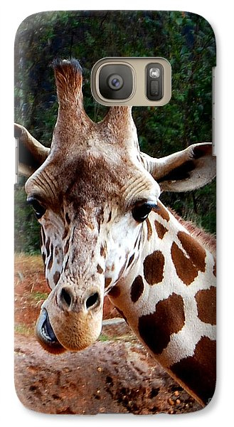 Galaxy Case featuring the photograph Wuz Up Dude by Nancy Bradley