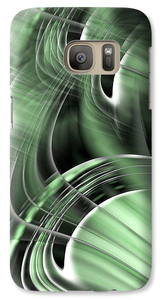 Galaxy Case featuring the digital art X Why Z by Steve Sperry