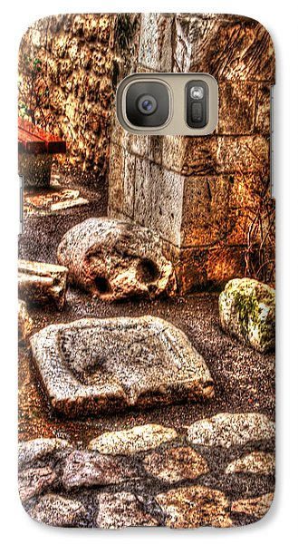 Galaxy Case featuring the photograph Stones That Don't Lie - Israel by Doc Braham