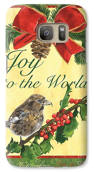 Xmas Around The World 2 Galaxy S7 Case