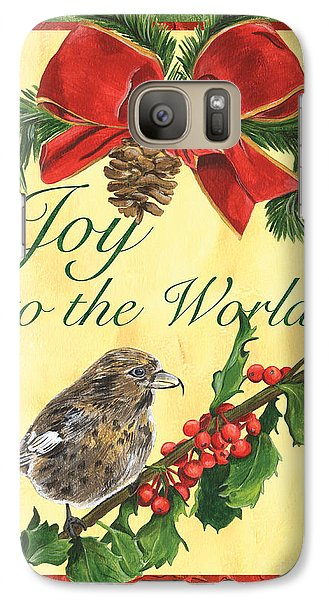 Xmas Around The World 2 Galaxy S7 Case by Debbie DeWitt