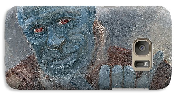 Galaxy Case featuring the painting Y Is For Yondu by Jessmyne Stephenson