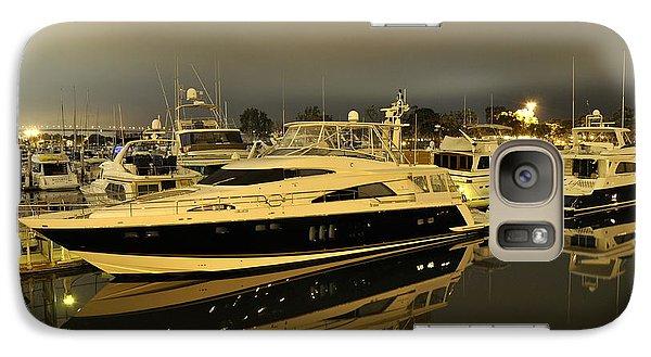 Galaxy Case featuring the digital art Yacht  by Gandz Photography
