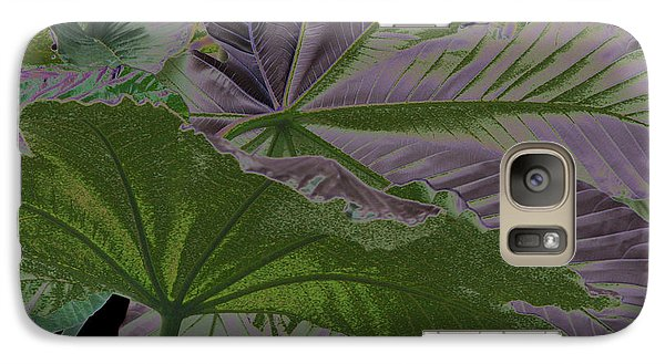 Galaxy Case featuring the photograph Yagrumo by Aurora Levins Morales