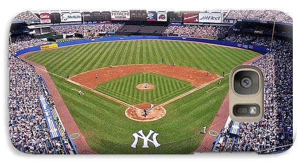 Yankee Stadium Galaxy S7 Case by Allen Beatty