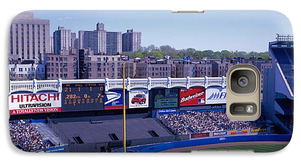Yankee Stadium Ny Usa Galaxy S7 Case by Panoramic Images