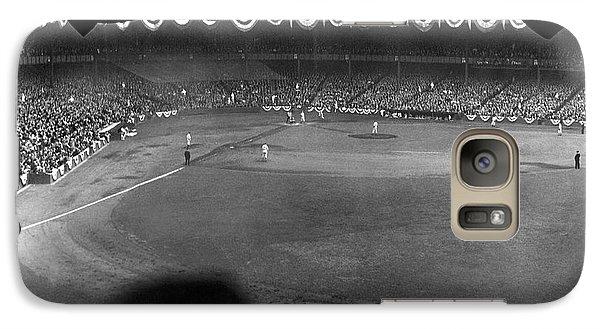 Yankees Defeat Giants Galaxy S7 Case by Underwood Archives