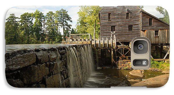 Galaxy Case featuring the photograph Yates Mill by Doug McPherson