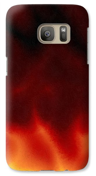 Galaxy Case featuring the digital art Ydinpommi by Jeff Iverson