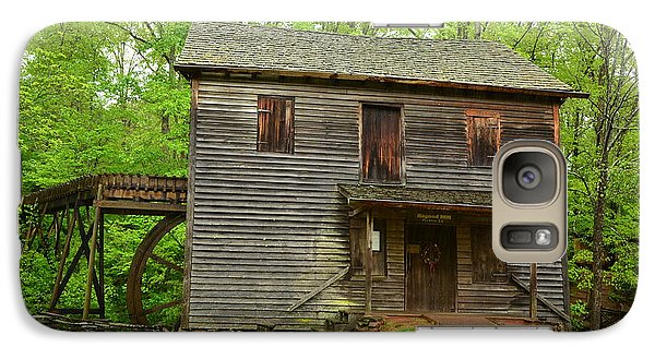 Galaxy Case featuring the photograph Ye Olde Grist Mill by Bob Sample