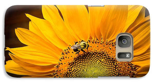 Galaxy Case featuring the photograph Yellow And Black by Sara Frank