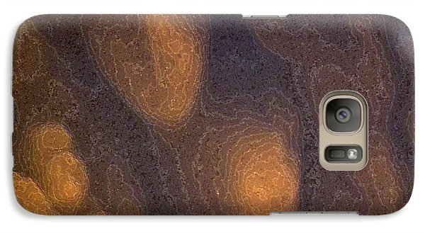 Galaxy Case featuring the photograph Yellow And Blue 2 Pdae3  by Lyle Crump
