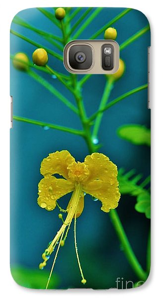Galaxy Case featuring the photograph Yellow And Delicate  by Craig Wood