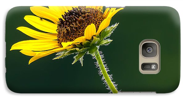 Galaxy Case featuring the photograph Yellow And Green Delight by David Lester