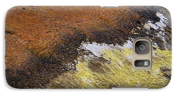 Galaxy Case featuring the photograph Yellow And Orange Converging by Nadalyn Larsen