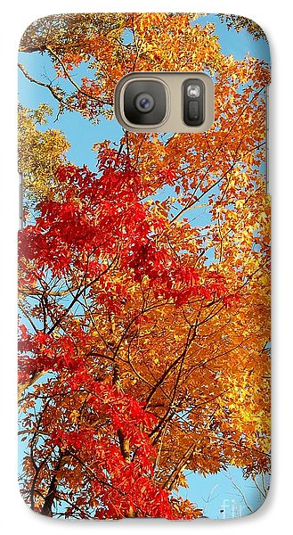 Galaxy Case featuring the photograph Yellow And Red by Patrick Shupert