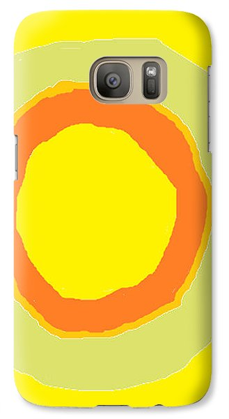 Galaxy Case featuring the painting Yellow by Anita Dale Livaditis