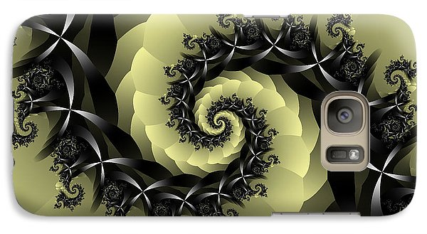Galaxy Case featuring the digital art Yellow Brick Road Detour by Elizabeth McTaggart