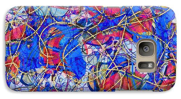 Galaxy Case featuring the digital art Yellow Brick Road by Gabrielle Schertz