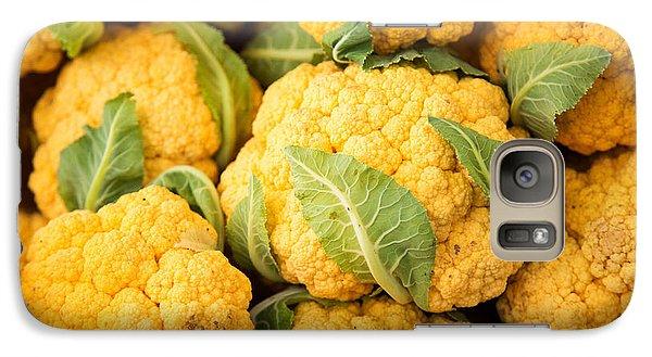 Yellow Cauliflower Galaxy S7 Case