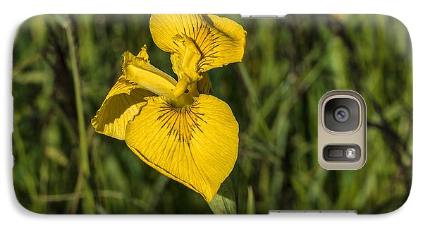 Galaxy Case featuring the photograph Yellow Crown by Leif Sohlman