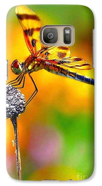 Galaxy Case featuring the photograph Yellow Dragon by Adam Olsen