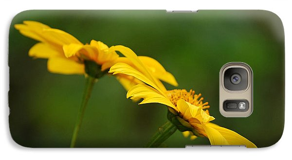 Galaxy Case featuring the photograph Yellow Dye by Lorenzo Cassina