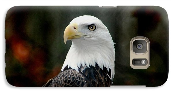 Galaxy Case featuring the photograph Yellow Eye by Steve Godleski