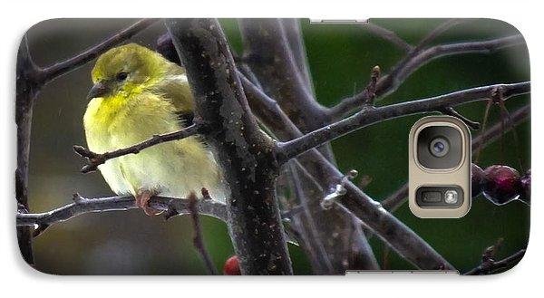 Yellow Finch Galaxy S7 Case