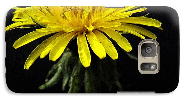 Galaxy Case featuring the photograph Yellow Flower by Dorin Adrian Berbier