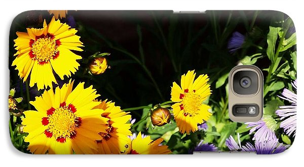 Galaxy Case featuring the photograph Yellow Flower by Rose Wang