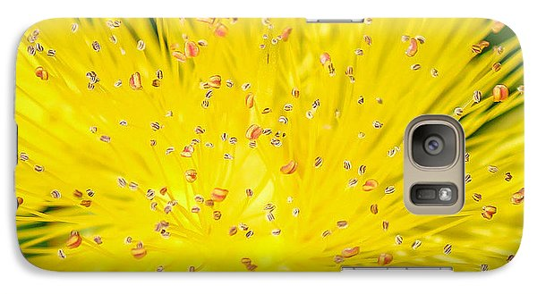 Galaxy Case featuring the photograph Yellow Flower  by Trace Kittrell
