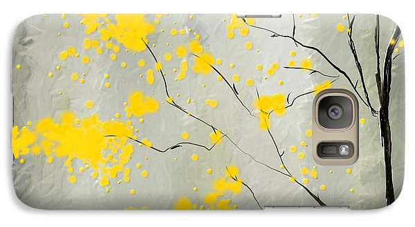 Yellow Foliage Impressionist Galaxy S7 Case